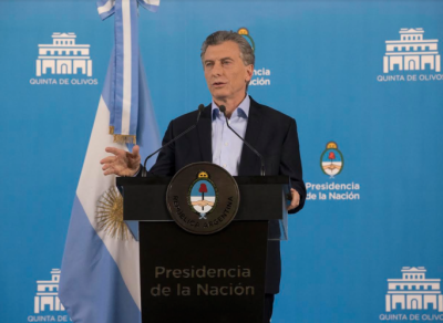 Confirma Macri que no habrá cambios en las retenciones e insiste con la idea de la