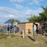 Instalan 270 paneles solares en la zona rural de Esquina