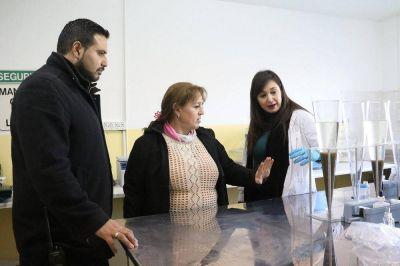 El Municipio de Río Grande puso en marcha un laboratorio en la planta depuradora de líquidos cloacales