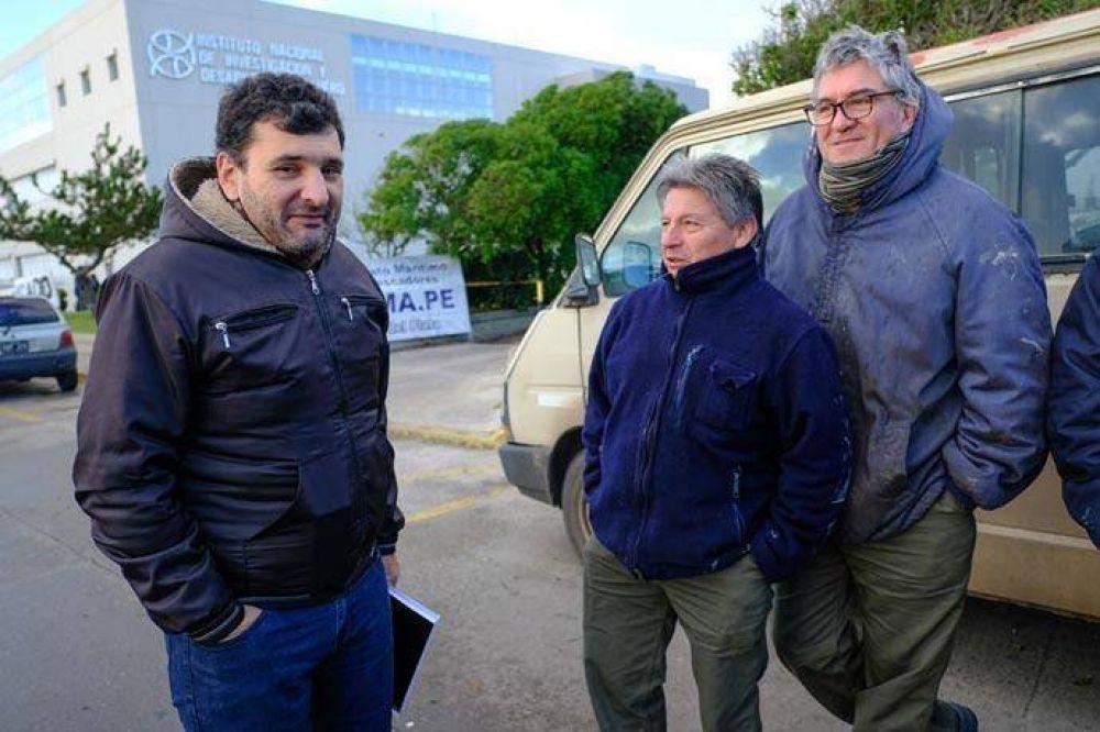 Trueba y Novero fueron reelectos en el SIMAPE