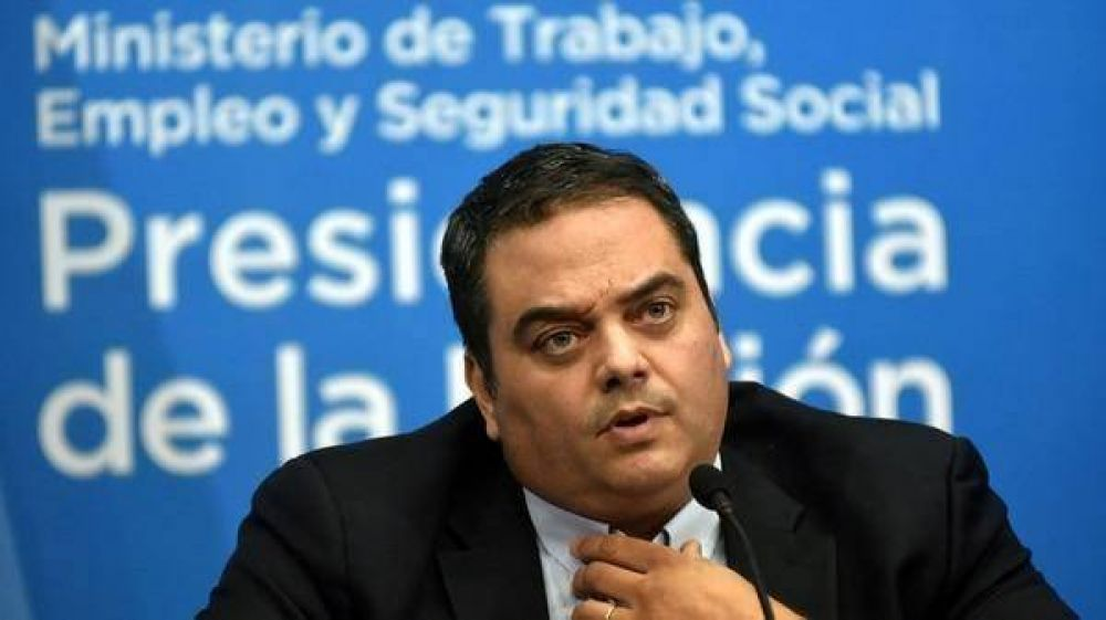 Jorge Triaca, sobre la multa millonaria a Camioneros: