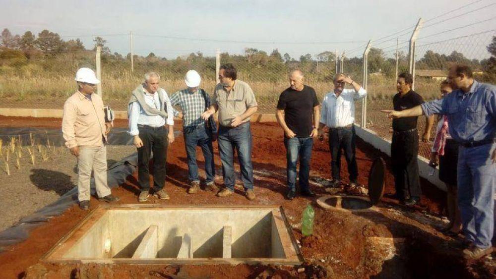 Garupá tendrá una planta de líquidos cloacales con sistema de filtrado natural