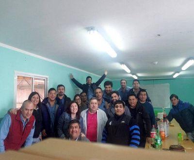 Numerosas visitas de referentes de Petroleros Jerárquicos a sus afiliados