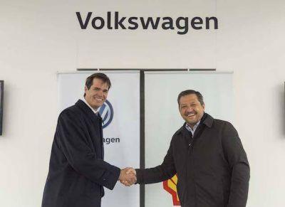 Volkswagen y Shell celebran nueva alianza de colaboración estratégica