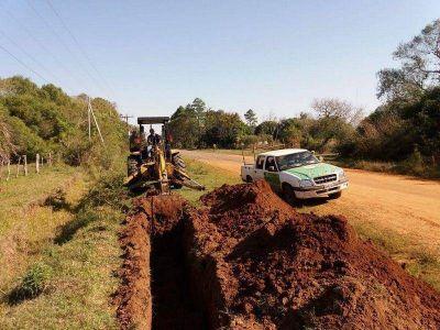 Instalan red para proveer de agua potable a 46 familias de Manantiales
