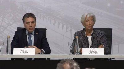 Lagarde marcó el rumbo