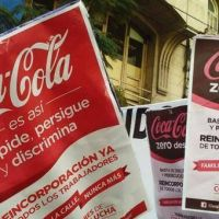 Despidos y persecución sindical en Coca-Cola