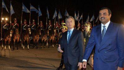 Macri y el Emir de Qatar: Futbol, política y negocios