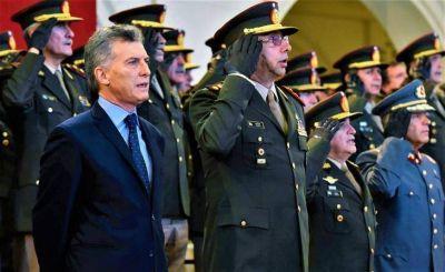 Polémico decreto: podría anunciar Macri el uso de las Fuerzas Armadas para combatir el delito