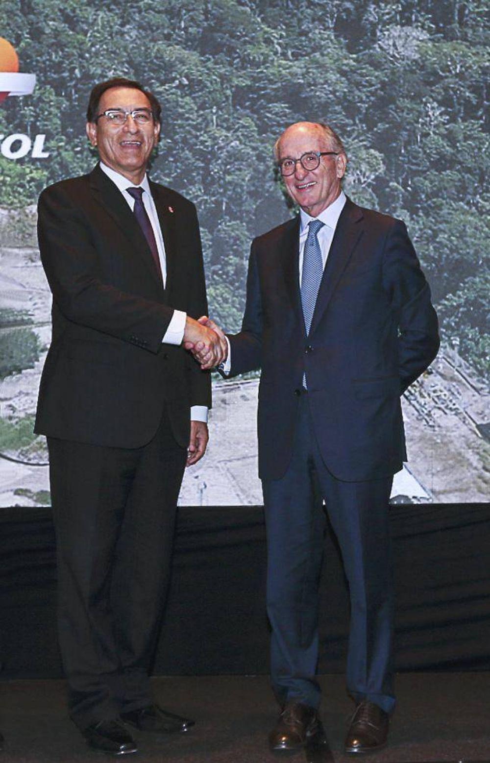 Repsol inaugura en Perú el proyecto de producción de hidrocarburos del Lote 57