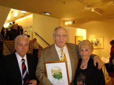 Falleció Ernesto Dolber Z´L, ex presidente de Unión Sionista de Rosario y de gran trayectoria como dirigente comunitario