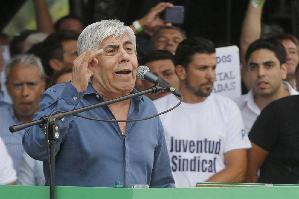 Moyano apela la multa y lanza un plan de protestas