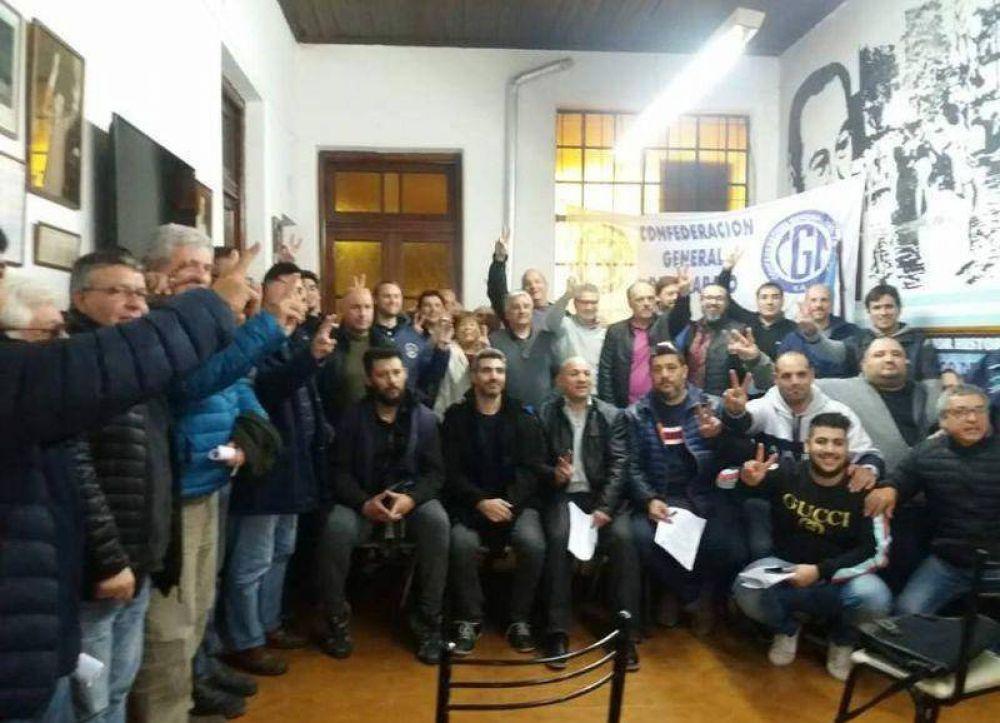 Se celebró el tercer encuentro de dirigentes gremiales en el Partido Justicialista