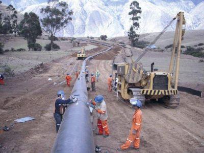 El gasoducto cordillerano presenta un avance del 48%