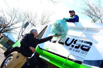 Decisivo paso con la basura en la ciudad: por primera vez, se realizó la recolección diferenciada