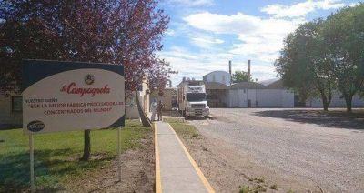 La Campagnola evalúa cerrar su planta en Choele Choel
