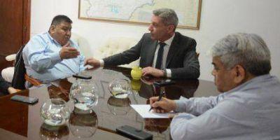 Ávila valoró la cesión a Capsa del yacimiento que operaba Enap Sipetrol