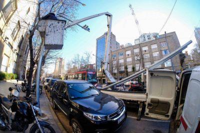 Fotomultas: el municipio comenzó la instalación de radares