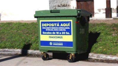 Comenzó la segunda etapa de distribución de nuevos contenedores de residuos