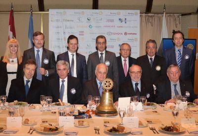 El CEO de Tecpetrol Carlos Ormachea en el Ciclo de Conferencias del Rotary Club de Buenos Aires