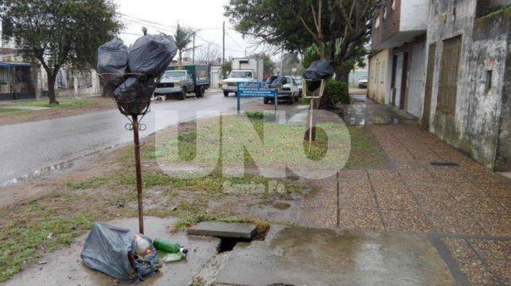 Tres días sin recolección de residuos en barrios del norte de la ciudad