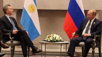 Macri le pidió a Putin inversiones rusas vía PPP