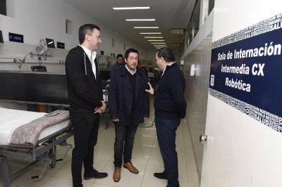 Malvinas Argentinas tiene la terapia intensiva más grande de la provincia