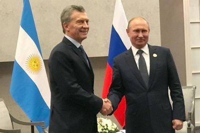 Mauricio Macri se reunió con Putin y Xi Jinping con la expectativa de captar inversiones