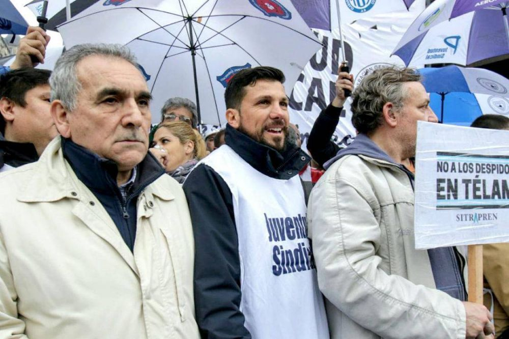 Un fuerte rechazo opositor se manifestó frente al Ministerio de Defensa