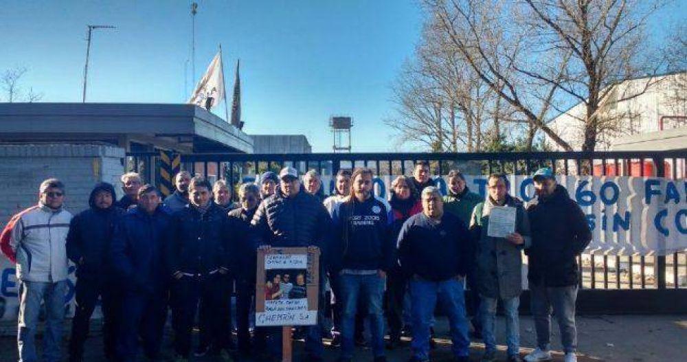 Cerró la fábrica de plásticos Chemton y dejó 60 empleados en la calle