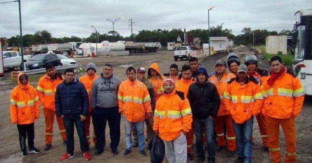 En la Ruta 11 también paralizaron las obras y hay 87 despidos