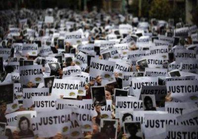 Las víctimas de la Amia piden justicia.