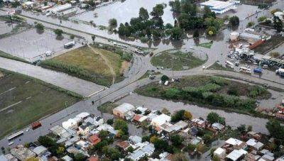 Prueban en La Plata un sistema de alerta de inundaciones