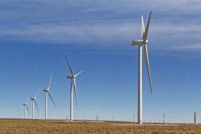 La primera etapa del parque eólico de YPF ya genera energía a la red pública