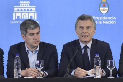 Macri mantiene la sintonía con Marcos Peña, más allá de las críticas internas