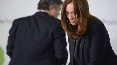 María Eugenia Vidal se despega de Mauricio Macri