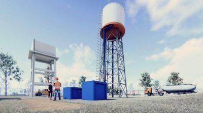 Empieza la ampliación de la planta de agua de la comuna de San Martín