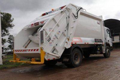 Antes del arranque de la recolección diferenciada, compraron un nuevo camión para la basura