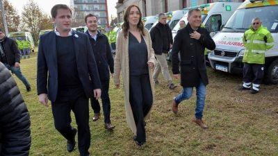 María Eugenia Vidal provincializará sus apariciones