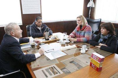 Baragiola y Coria se reunieron con empresarios pesqueros