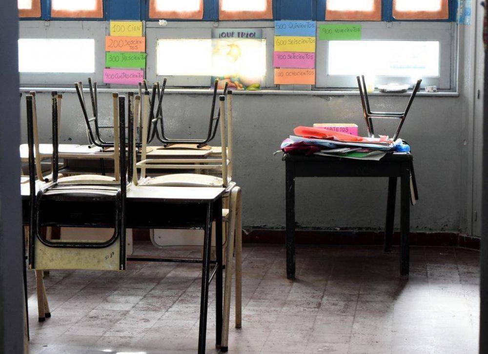 El Municipio descontará el día a los docentes que adhieran al paro
