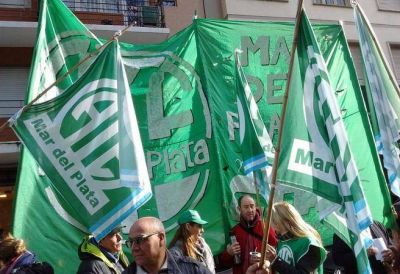 El paro de los trabajadores estatales alcanzó un 90 por ciento de acatamiento