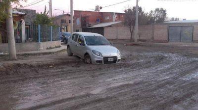 La Muni hará desagües clocales en el barrio Confluencia