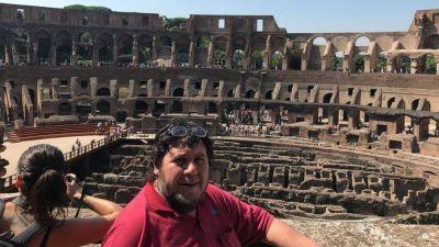 Néstor Segovia justificó su viaje al Vaticano: