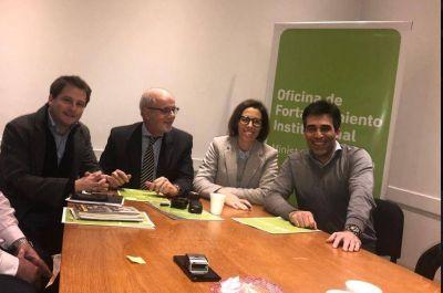 López firmó un convenio con las oficinas Anticorrupción y Fortalecimiento Institucional