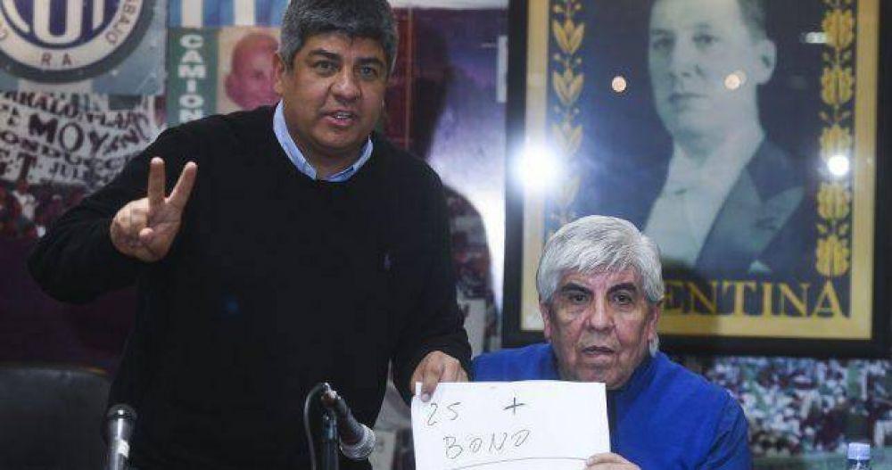 La Justicia embargó a Camioneros por más de mil millones de pesos