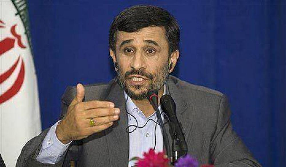 El presidente iraní contestó con dureza a Cristina