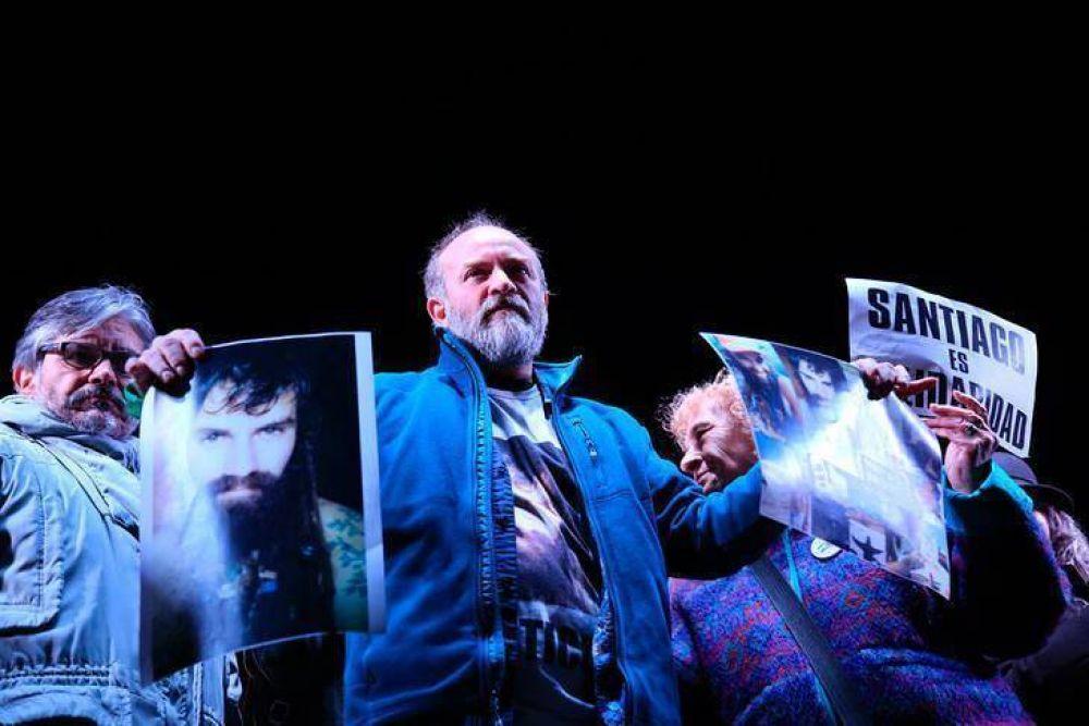 Una multitud exigió justicia por Santiago Maldonado
