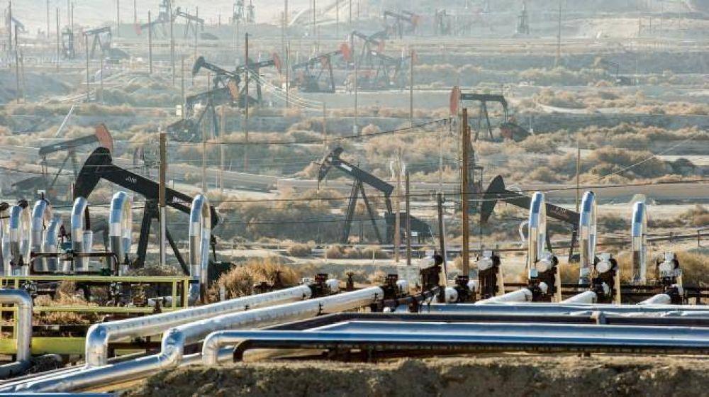 El precio del petróleo cayó 7% durante julio