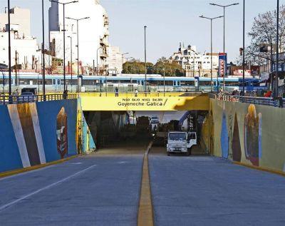 Habilitan un túnel que beneficiará a 27.000 vehículos en Saavedra